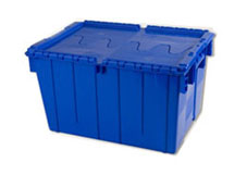 PLASTIC ATTACHED LID CONTAINERS