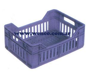 E014 cajones de plastico apilables 402 x 298 x 152 mm for Cajones plasticos apilables